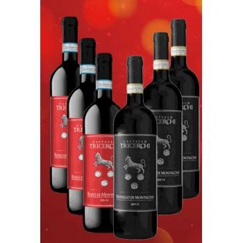 I migliori vini di castello tricerchi montalcino