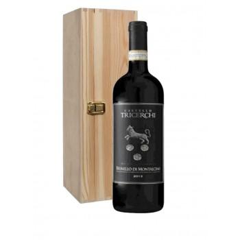 Brunello di Montalcino DOCG 2015 MAGNUM 1,5lt wooden box - Az. Agr. Castello Tricerchi