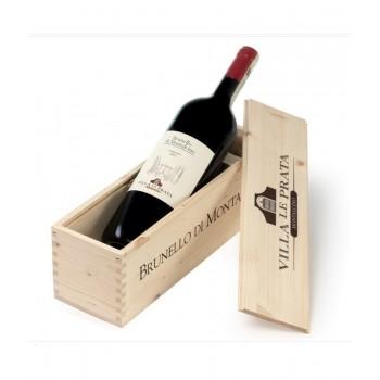 Brunello di Montalcino DOCG Wooden Box -  Az. Agr. Villa Le Prata